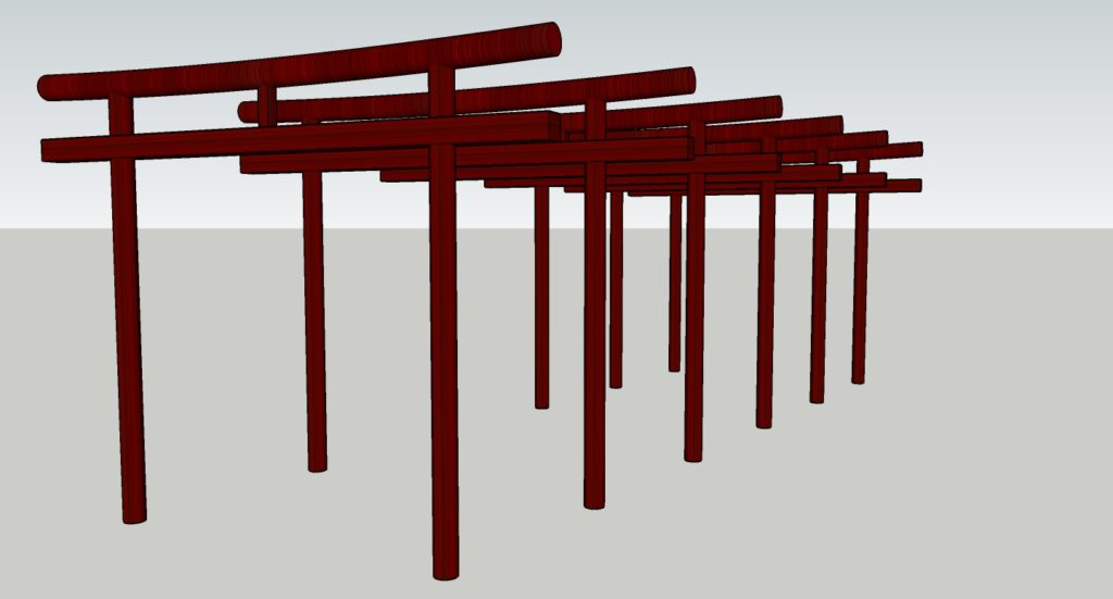 Créations - Mobilier - Arche - Gamme Takamori - Green Perspective