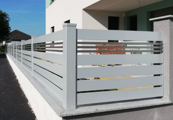 Créations - Terrasse - Garde-corps Aluminium Imitation Bois - Green Perspective