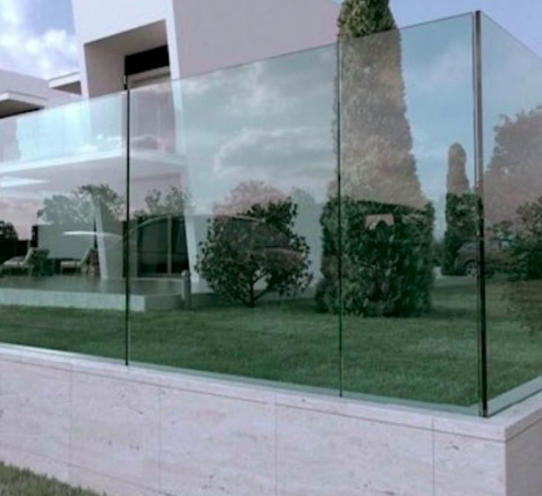 Créations - Terrasse - Garde-corps - Verre - Green Perspective