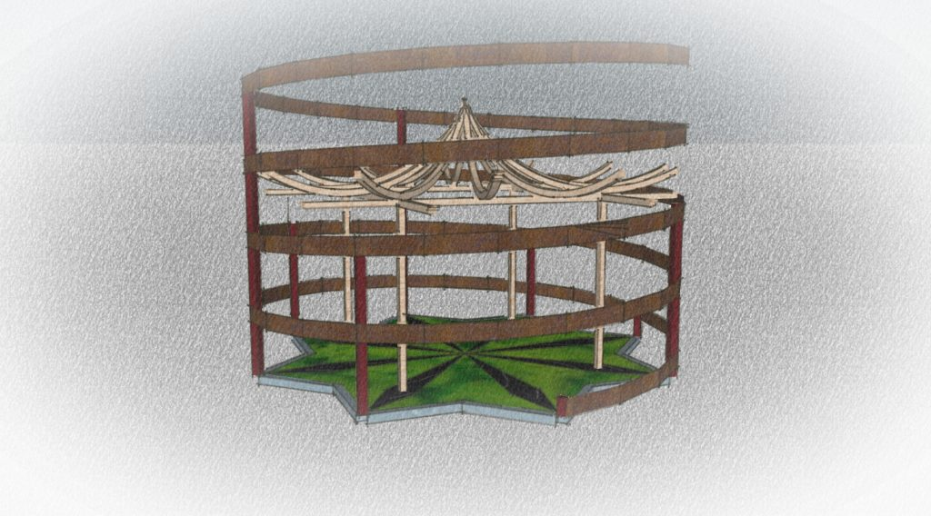 Créations - Pergola - Gamme Uzume - Green Perspective
