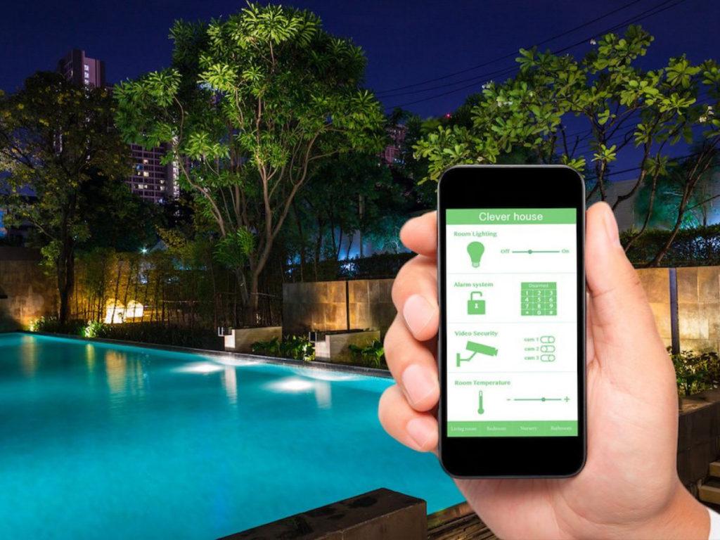 Jardin 2.0 - Éclairage connecté - Green Perspective