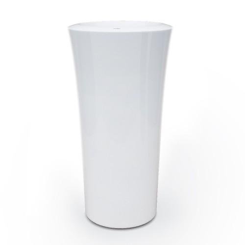 Créations - Mobilier - Bac de plantation - Composite, Polyester - Gamme Parga Blanc - Green Perspective