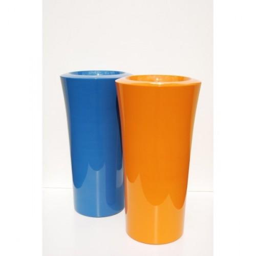 Créations - Mobilier - Bac de plantation - Composite, Polyester - Gamme Parga Bleu - Orange - Green Perspective