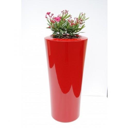 Créations - Mobilier - Bac de plantation - Composite, Polyester - Gamme Parga Rouge - Green Perspective
