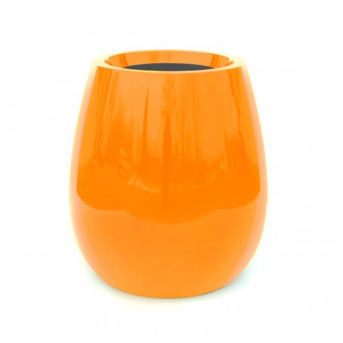 Créations - Mobilier - Bac de plantation - Composite, Polyester - Gamme Silba Orange - Green Perspective