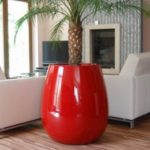 Créations - Mobilier - Bac de plantation - Composite, Polyester - Gamme Silba Rouge - Green Perspective